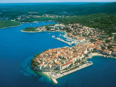 Cruising Croatia - Korcula