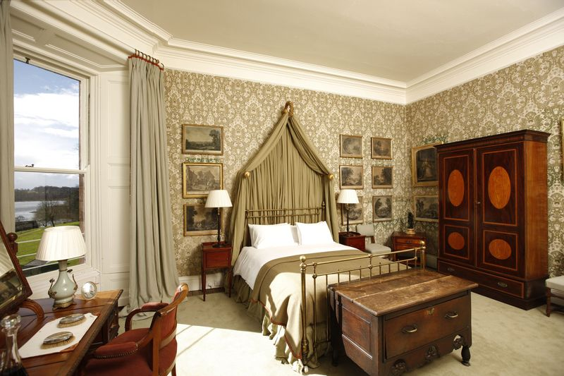 Ashford Castle Hotel Bedroom
