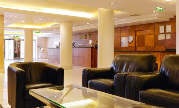 Academy Plaza Lobby