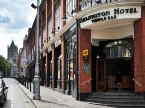 The Arlington Hotel Accommodation In Temple Bar Is An Ideally Located Dublin City Centre Opposite Castle On Doorstep Of