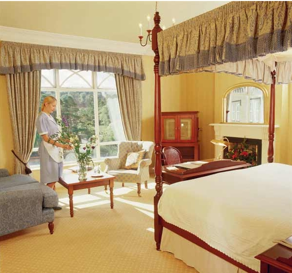 Ballynahinch Castle Bedroom