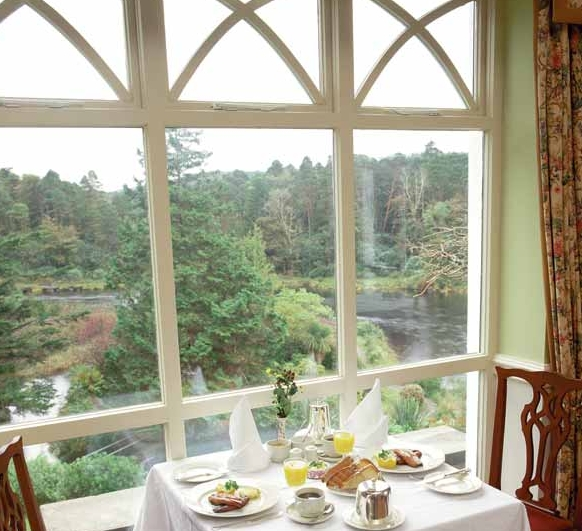 Ballynahinch Castle Hotel Breakfast