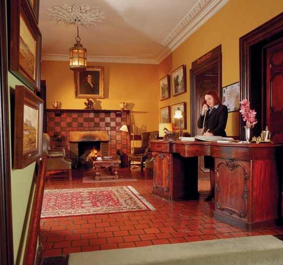 Ballynahinch Caslte Hotel Lobby