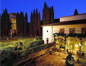 Villa Casagrand in the Evening