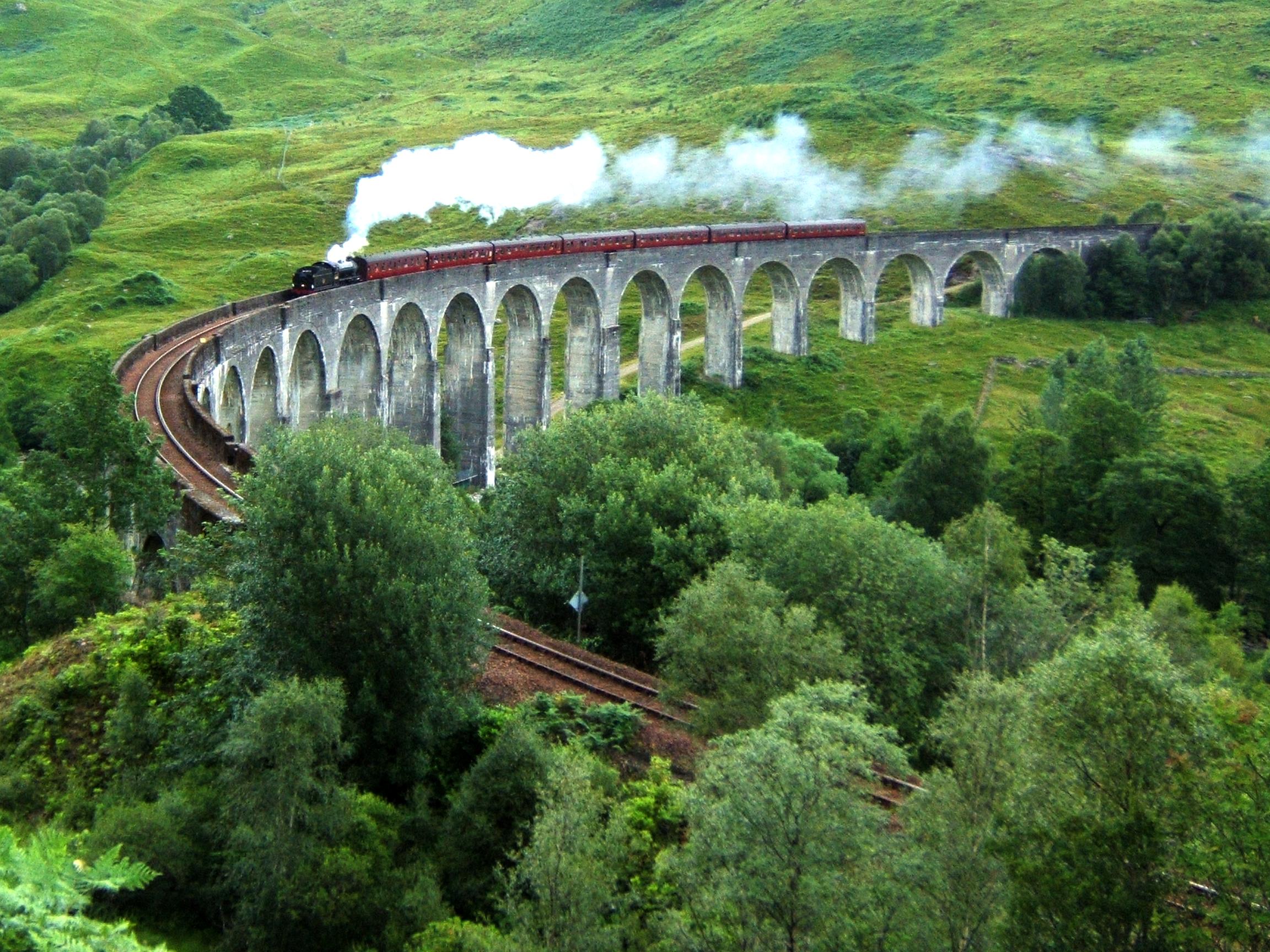 Harry Potter Filming Location: Glenfinnan Viaduct