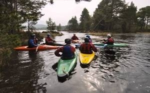 Kayaking in Scotland on an Adventure Tour of Scotland