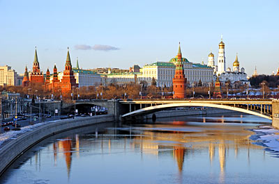 Russian River Cruise: Moscow, Russia