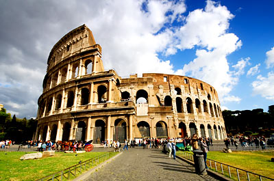 Colosseum, Rome Italy; Rome Vacations