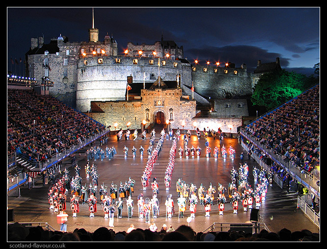 Edinburgh Tattoo and Festival Glasgow Package