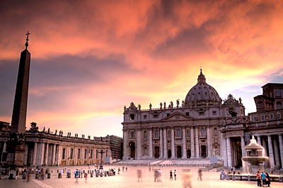 St. Peter's Cathedral, Rome, Italy: Rome Vacations