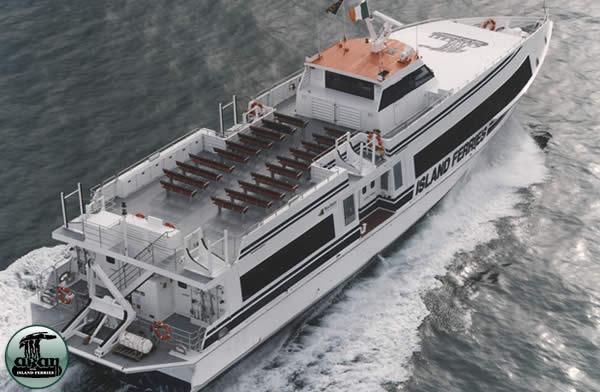 Island Ferries - Round Trip Ferry Crossing to Aran Island