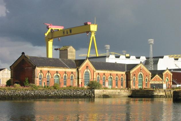 Visit the Titanic docks and Pump House in Belfast with Celtic Tours on your next tour of Ireland