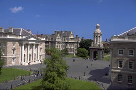 Trinity College, Dublin, Ireland: Ireland Vacations with Celtic Tours