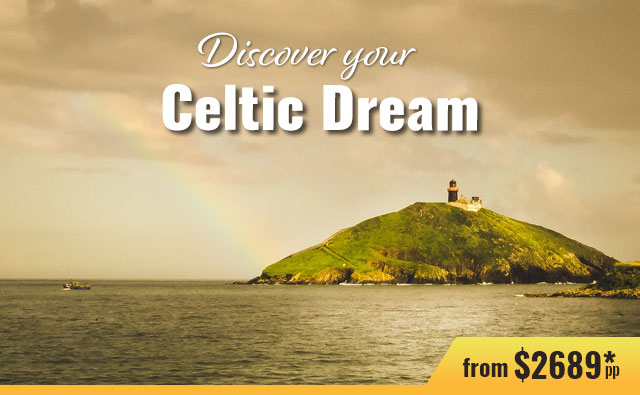 6-Nt independent package - w/castle stay    Celtic Tours World Vacations