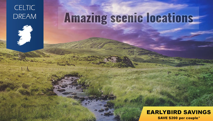 11-Nt Ireland Full Circle Escorted tour from $2,689* | Celtic Tours World Vacations