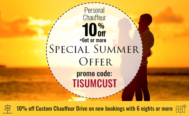 10% off Chauffeur Drive on new bookings with 6 nights ore more | Celtic Tours World Vacations