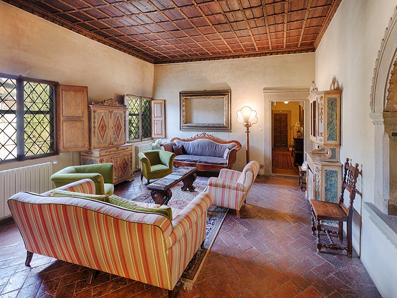 Villa Casagrande - Guest Parlor