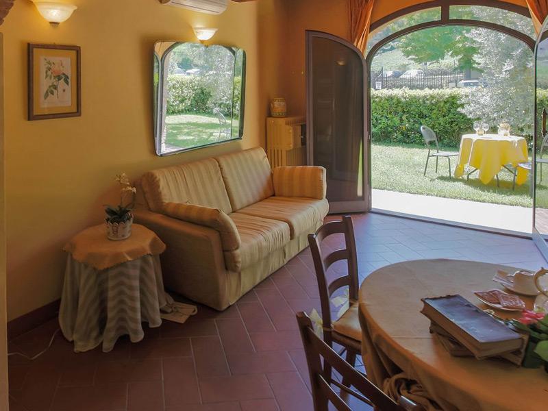 Villa Casagrande - Guest Bedroom With Outdoor Seating
