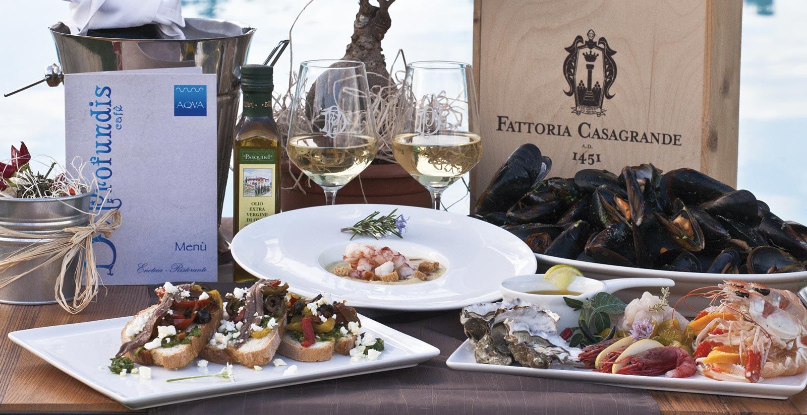 Villa Casagrande - Dining Samples