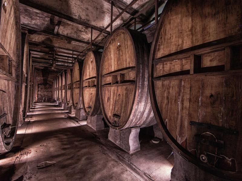Villa Casagrande - Wine Cellar